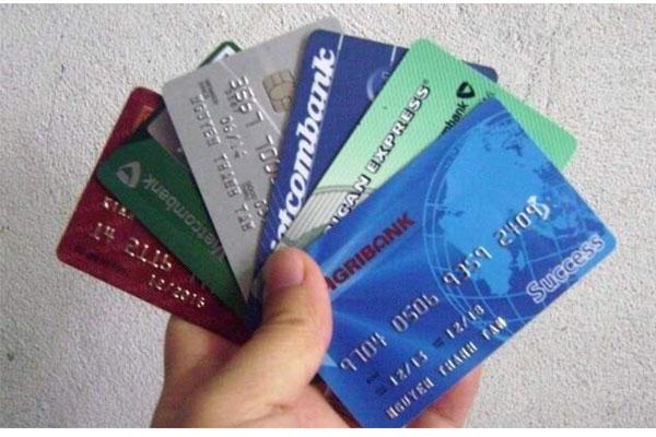 Ảnh một số thẻ ATM của các ngân hàng