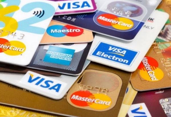 Các loại thẻ tín dụng thường gặp