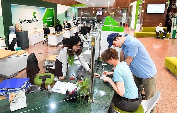 Thời gian làm việc của phòng giao dịch, chi nhánh tại Vietcombank là thứ 2 đến thứ 6